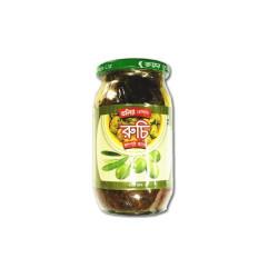 Dollys ruchi jolpai olive pickle 400gm - RHF