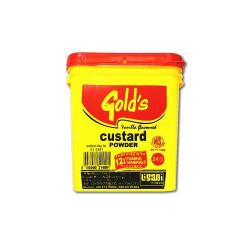 Golds vanilla custard powder 2kg - RHF