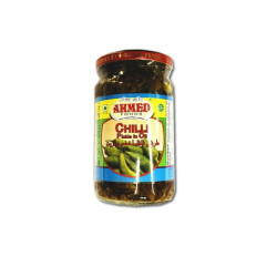 Ahmed foods chilli pickle in oil 320gm-arb