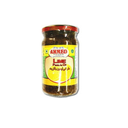 Ahmed foods lime pickle in oil 330gm-arb