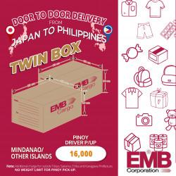 EMB Cargo Twin Box bound to Mindanao
