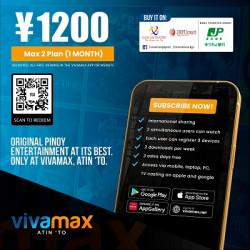 Vivamax Japan 1 Month Subscription Plan